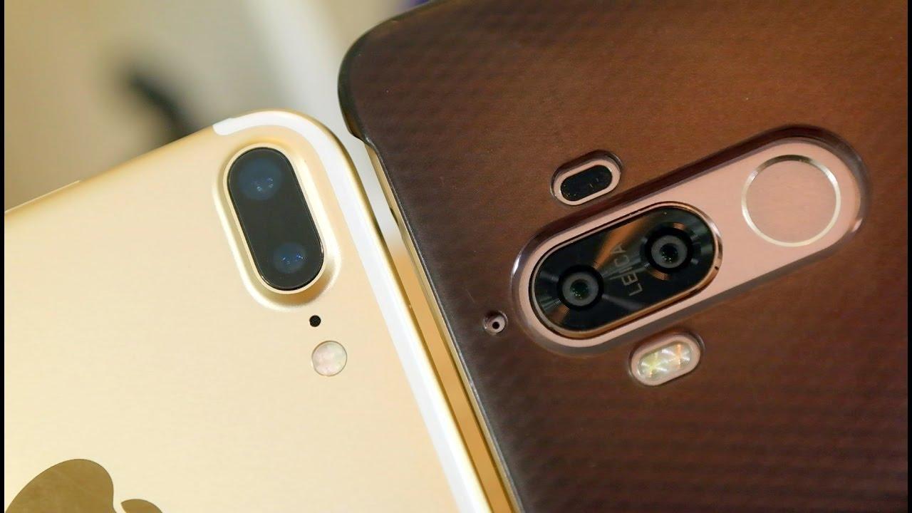 Huawei Mate 9 Vs Iphone 7 Plus Big Phones Dual Cameras Pt 1 Pocketnow Youtube