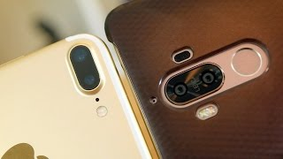 Huawei Mate 9 vs iPhone 7 Plus: Big Phones Dual Cameras (pt.1) | Pocketnow