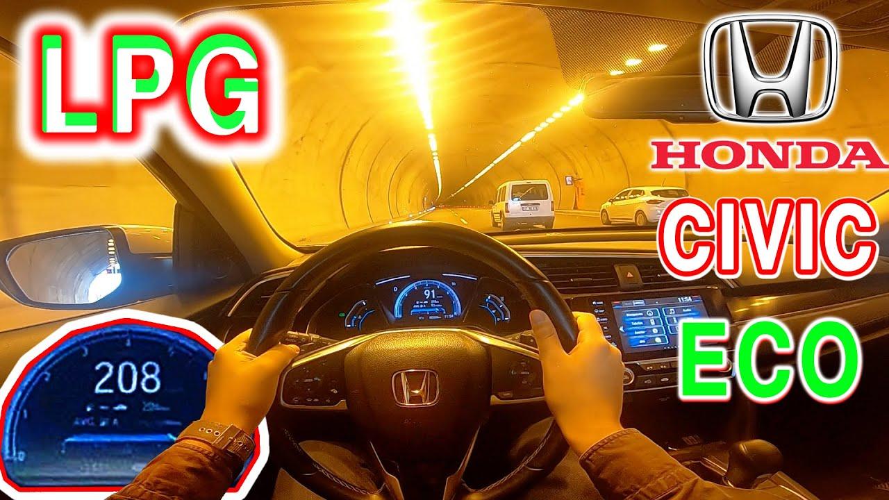 Honda Cıvıc 1.6 ies 0/215 km hızlanma