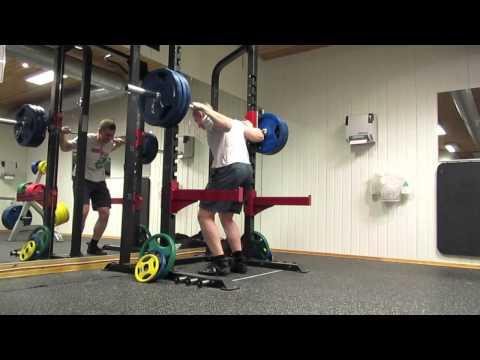 2ct Pause Squat 140kg X3@9