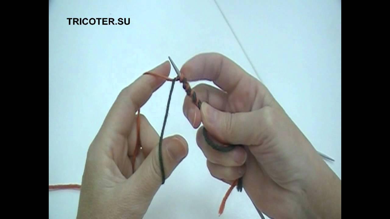 Что такое вспомогательная нить при вязании