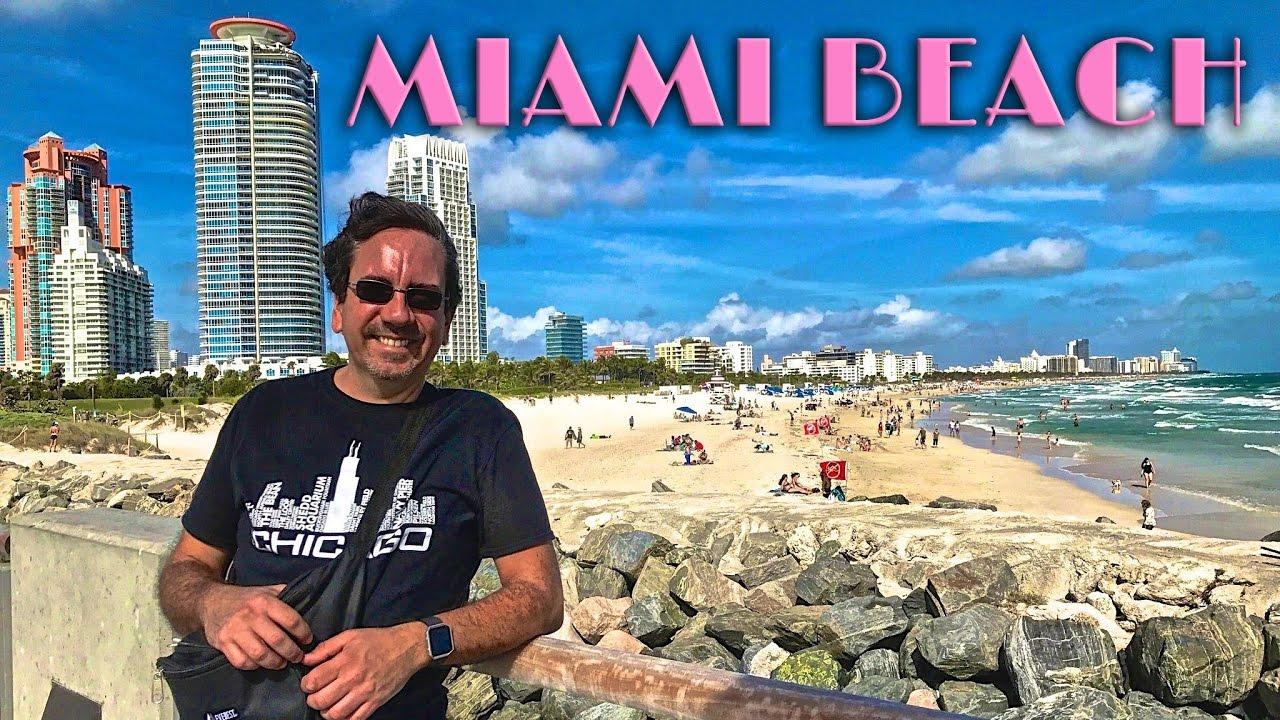 miami beach art deco district walking tour traveling robert youtube
