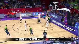 Goran Dragić dance with Spain. #EuroBasket2017 thumbnail