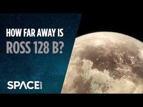 Possible Earth-Like Planet Ross 128 B - How Far Away is It?