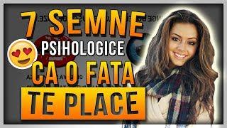 7 SEMNE PSIHOLOGICE care indica faptul CA O FATA TE PLACE - Cum sa stii daca o fata te pla ...