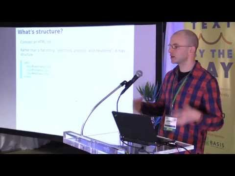 Text By the Bay 2015: James Earl Douglas, Discovering Knowledge in Linked Data