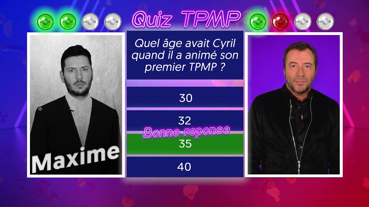 Quiz TPMP : Maxime Guény et Bernard Montiel connaissent-ils vraiment l'émission ?