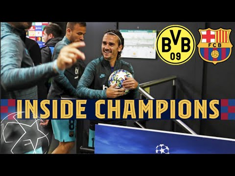 INSIDE CHAMPIONS | Borussia Dortmund 0-0 Barça from behind the scenes