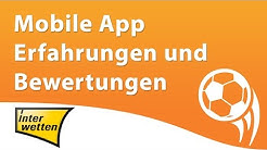 Interwetten mobile App Erfahrungen und Bewertung