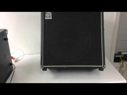 "Ampeg BA-115 Bass 15"" Speaker Cabinet"