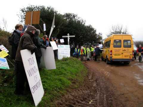 Supporters of Totnes Community Wind Farm