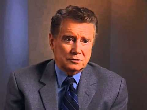 Regis Philbin on advice for becoming a television host- EMMYTVLEGENDS.ORG