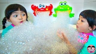 หนูยิ้มหนูแย้ม   กบปูเป่าบับเบิ้ล Bubble