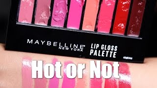 MAYBELLINE LIP PALETTE | Hot or Not