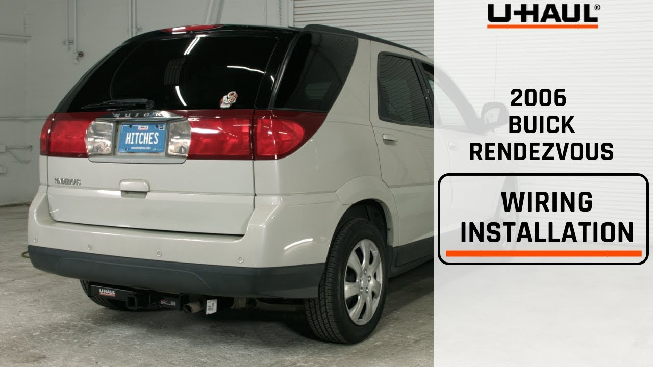 medium resolution of 2006 buick rendezvous wiring harness installation