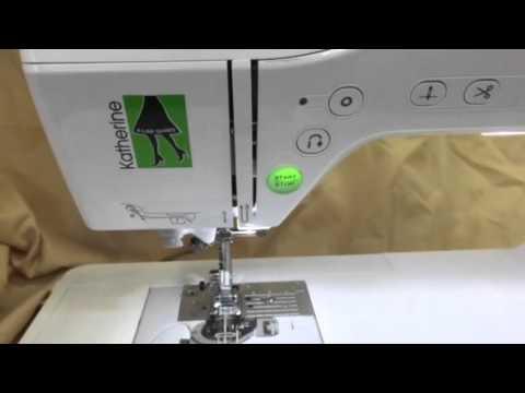 Baby Lock Katherine At Kingdom Sewing Center YouTube Beauteous Katherine Sewing Machine