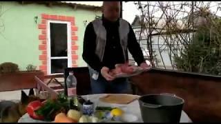 Баранина в тандыре по -Астрахански,блюдо в тандыре,готовим вкусно ,У Олегыча