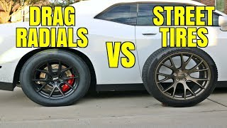 Testing Drag Radials vs Street Tires - Are They Worth It?