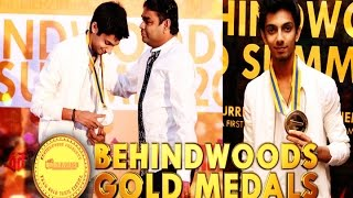 "Anirudh ""it Is Very Special To Receive An Award From My Childhood Hero"" Bw"