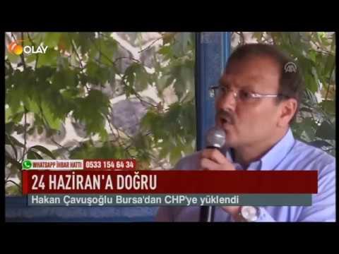 Hakan Çavuşoğlu Bursa'dan CHP'ye Yüklendi