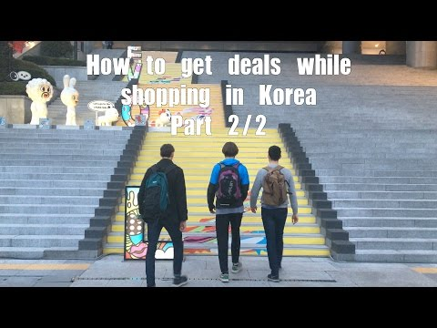 How to save money while shopping in Korea Part 2/2