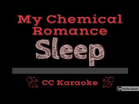 My Chemical Romance • Sleep (CC) [Karaoke Instrumental Lyrics]