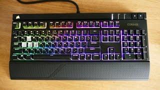 Лучшая игровая клавиатура! Corsair Strafe RGB MX Silent