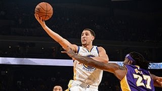 Klay Thompson Cashes in for a Career High 41-Points