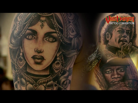 VietNam Tattoo Convention 2017 FINAL full
