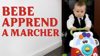 👣 BÉBÉ APPREND à MARCHER | BABY LEARNS TO WALK