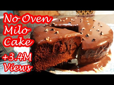 NO OVEN MILO CAKE | HOW  TO BAKE MILO CAKE WITHOUT OVEN!!!