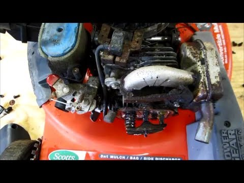 scotts model 21595x8b lawn mower 6 5hp ohv intek b s valves rh youtube com briggs and stratton 6.5hp intek edge ohv manual briggs and stratton 6.5hp intek edge ohv manual