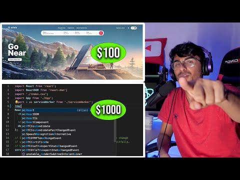 I paid a stranger $100 to make a React JS website
