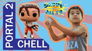 Chell Portal2 Funko Pop Daddy Plus Me TV