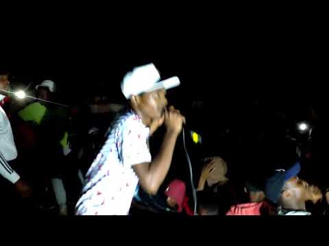 KINNAH MUSOMBO LIVE PERFORMANCE PA GHETTO 2017