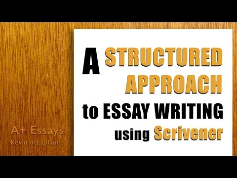A Structured Approach to Essay Writing Using Scrivener