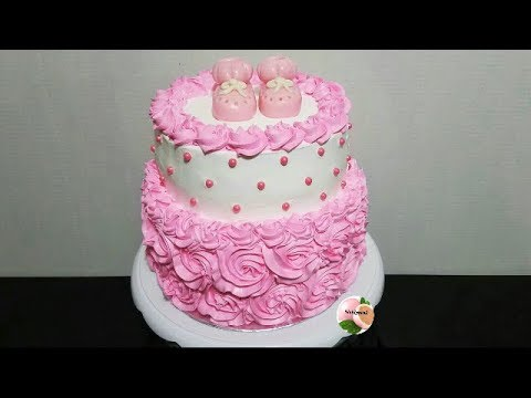 Torta O Pastel Para Baby Shower Baby Shower Cake Youtube