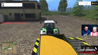 Live z Gabi -  #2 Farming Simulator 2015 (06.08.2015r)