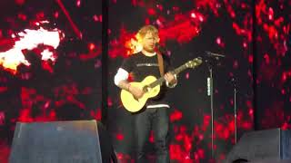 Ed Sheeran Bloodstream Live Manchester Etihad 24/05/18