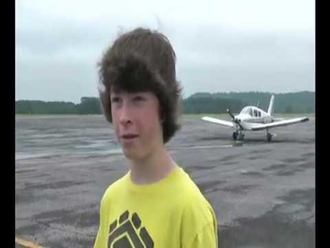 Airplane Ride Over Dalton, Georgia