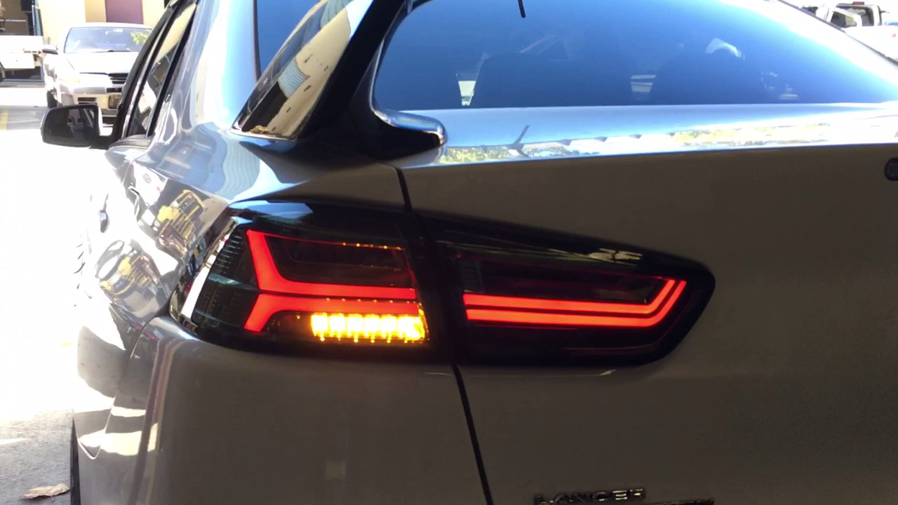 Mitsubishi Lancer 2008 2017 Cj Evo X Sequential Led Tail Lights