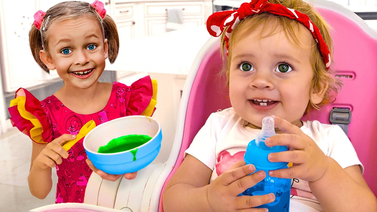 Good Sister for Mia | Kids Songs & Nursery Rhymes by Maya and Mary