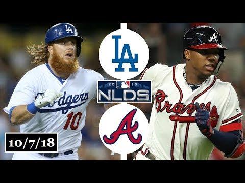 Los Angeles Dodgers vs Atlanta Braves Highlights || NLDS Game 3 || October 7, 2018
