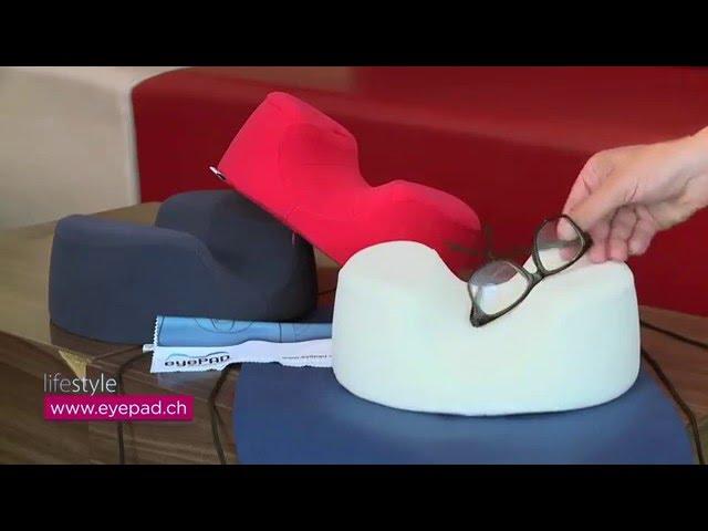 eyePAD® - RELAX WITH GLASSES / TELE ZÜRI LIFESTYLE