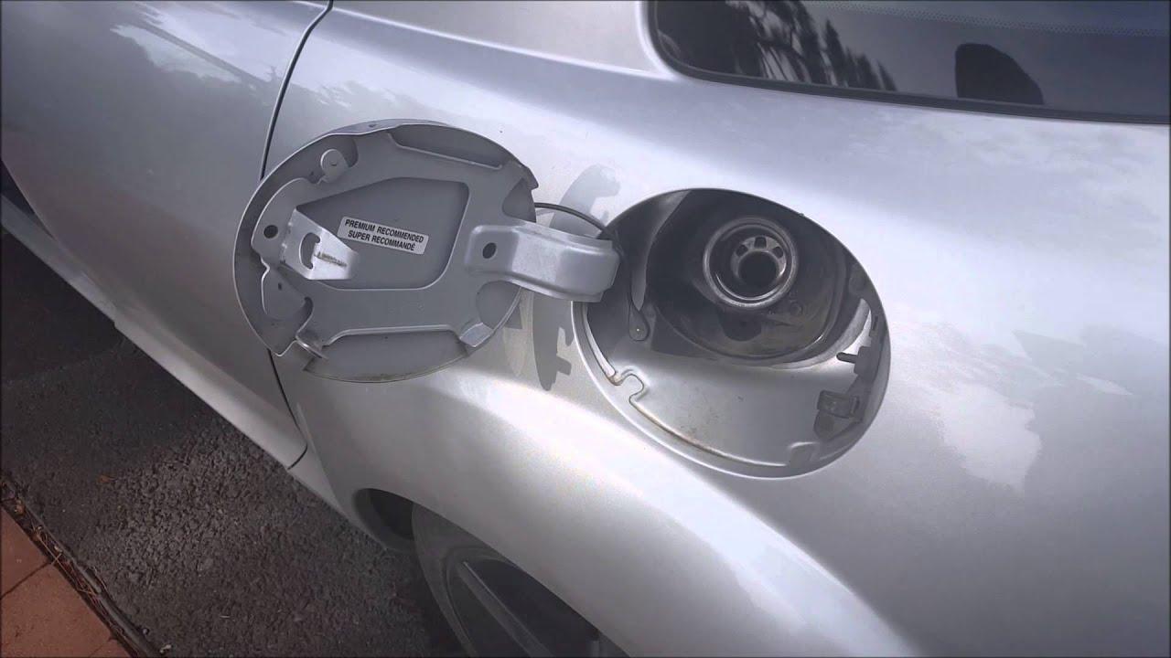 BennettBuilt Gas Cap cket Installation Mazda RX 8 - YouTube