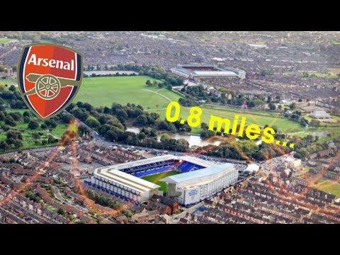 10 Shortest Premier League Away Trips (17/18)