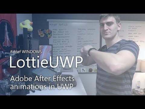 Vorgestellt: LottieUWP für Windows Apps