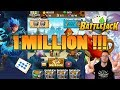 1 million d'or gagné facilement sur Battlejack !