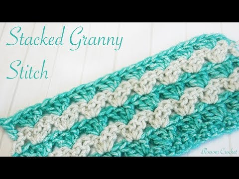 Simple Crochet: Stacked Granny Stripe Blanket