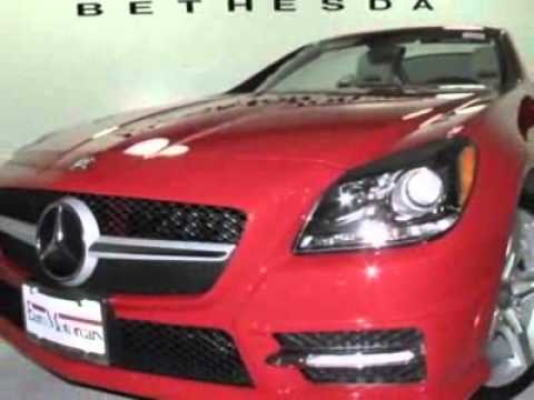 2012 Mercedes-Benz SLK-Class SLK350 Convertible - Bethesda, MD